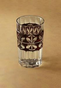 切子ガラスコップ